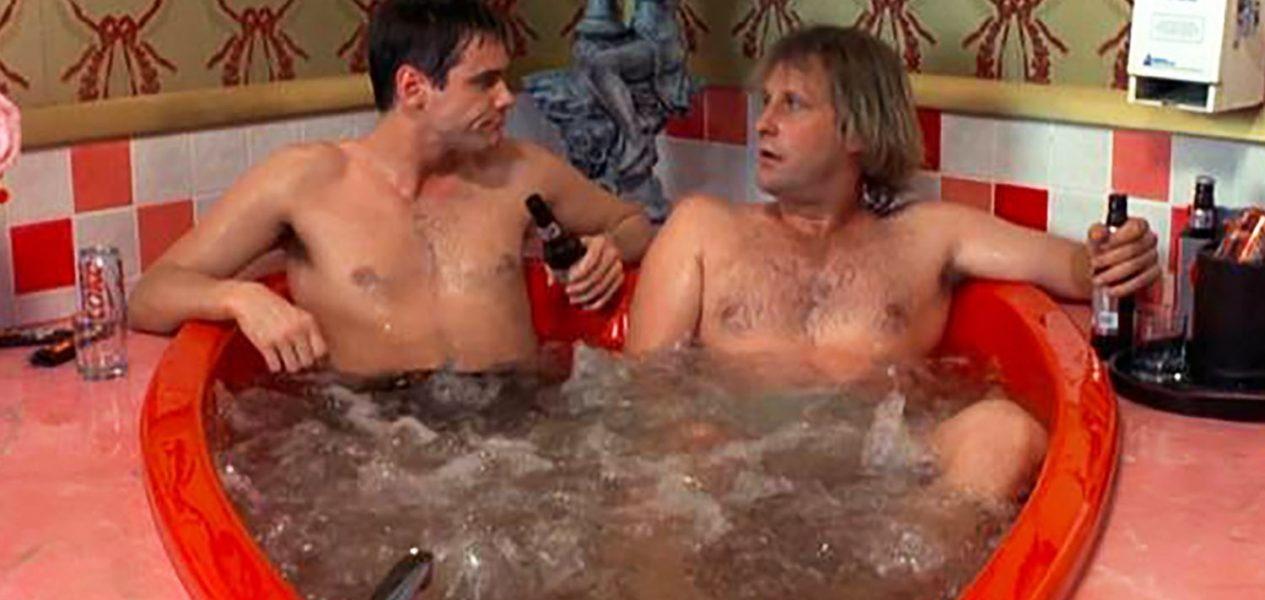 heart-shaped hot tub dumb and dumber