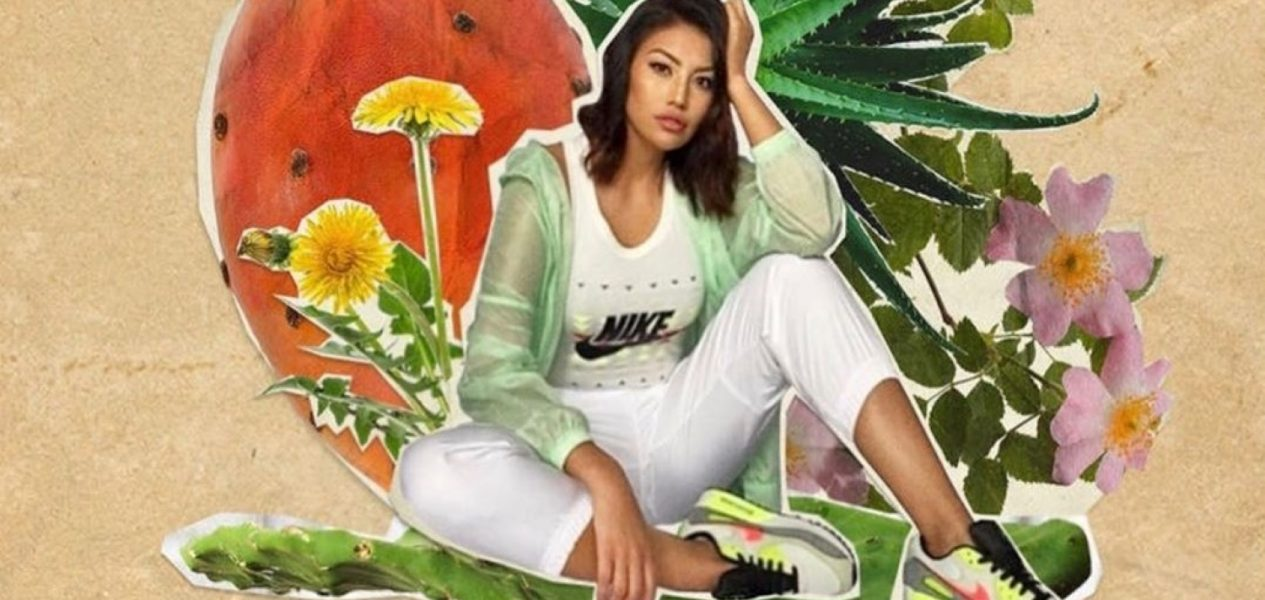 An Alberta-born Cree Model is the face of Nike's new major campaign