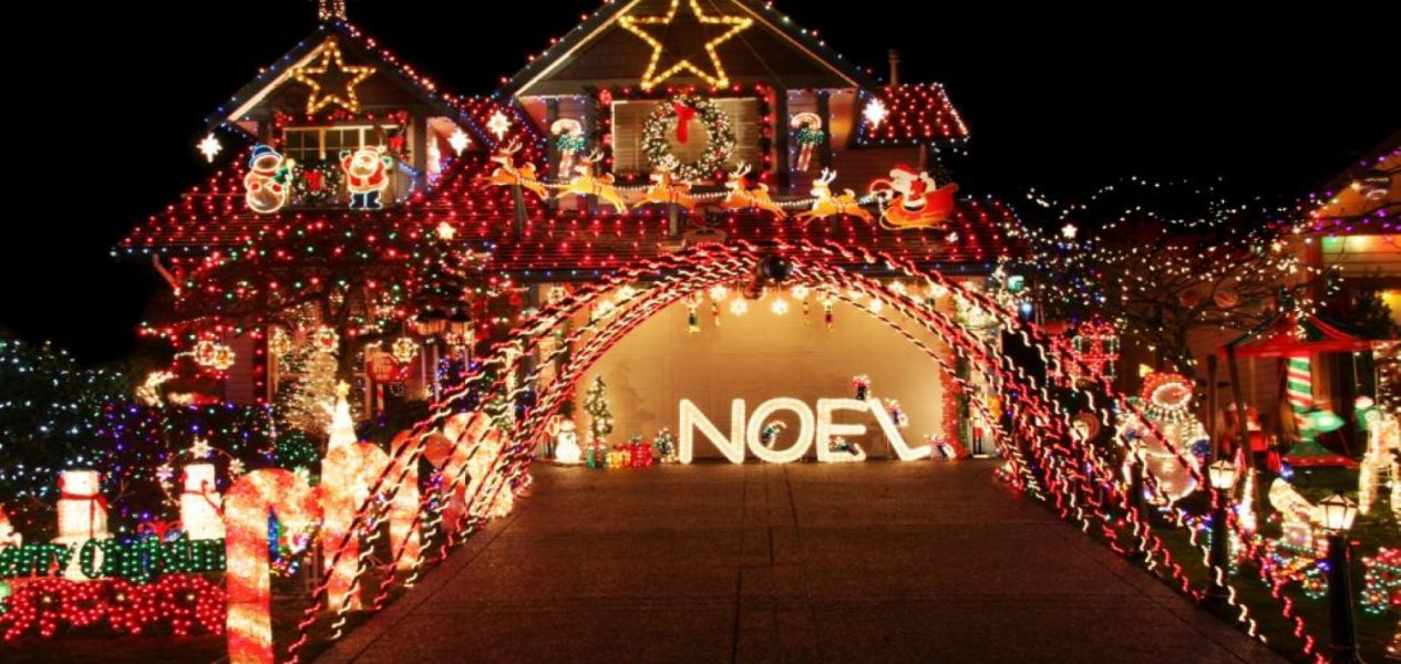 this website maps the craziest Christmas lights displays in Calgary