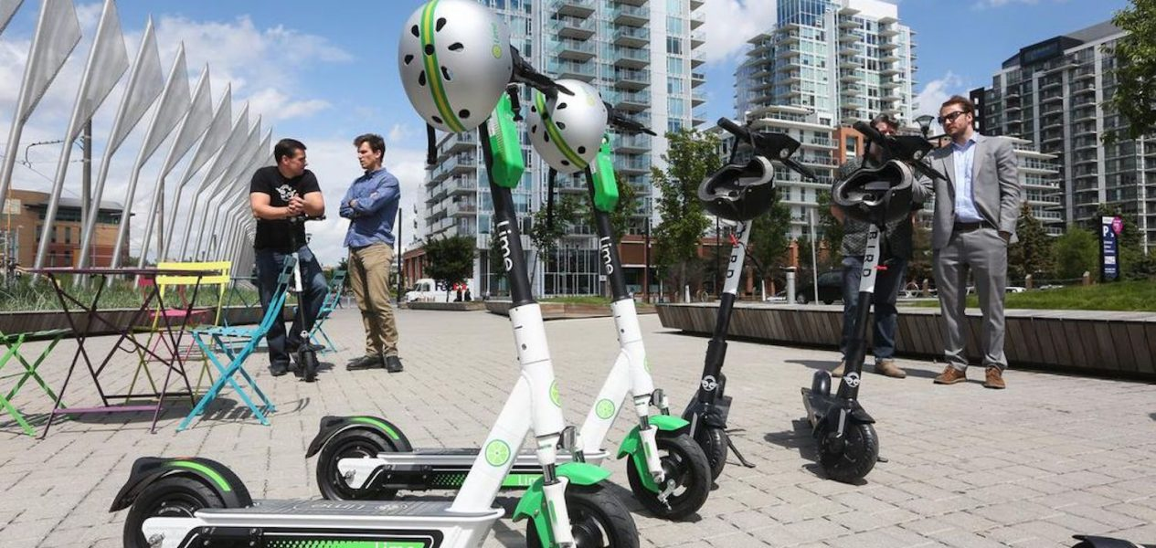 lime scooters calgary