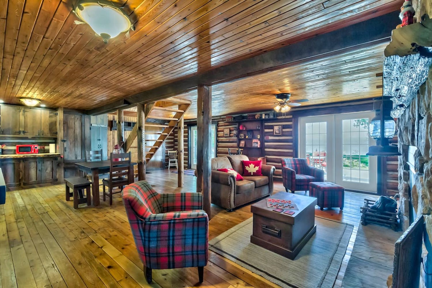 canadian lakefront cabin