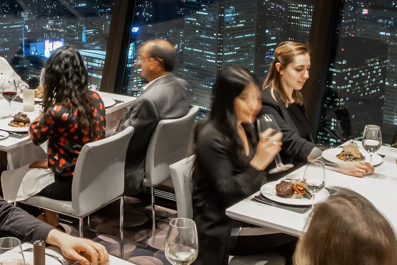 Toronto views restaurants
