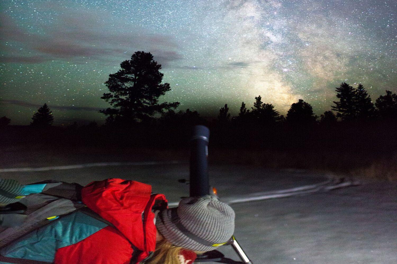 kananaskis stargazing sky night