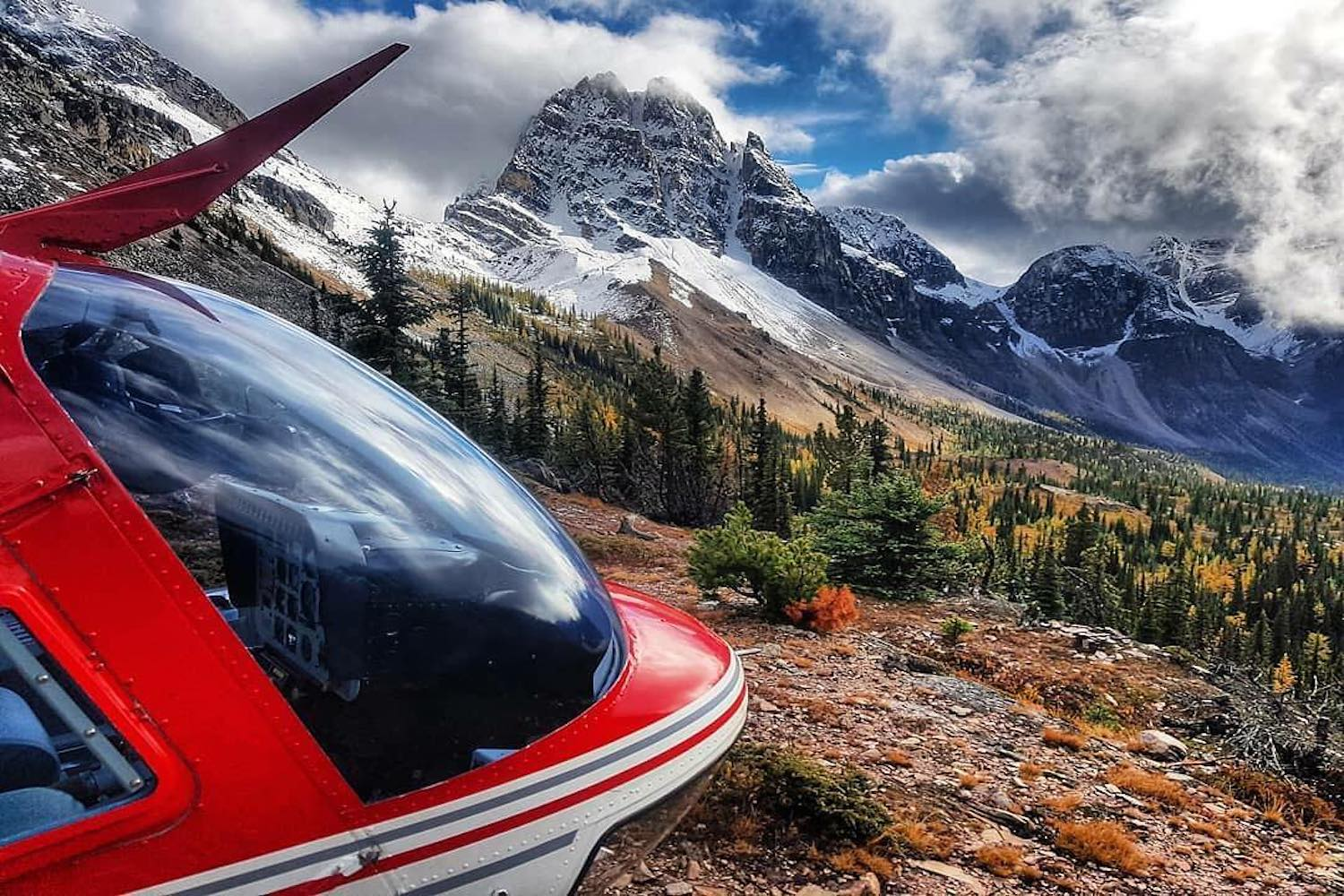 canmore alpine helicopters