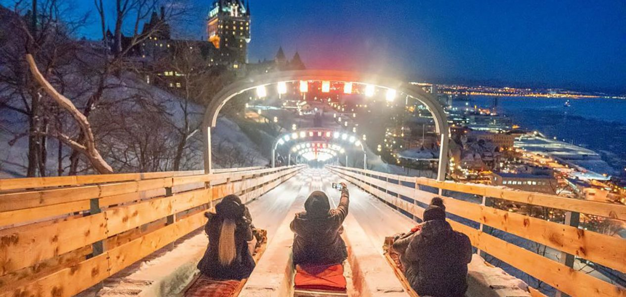 Quebec slide