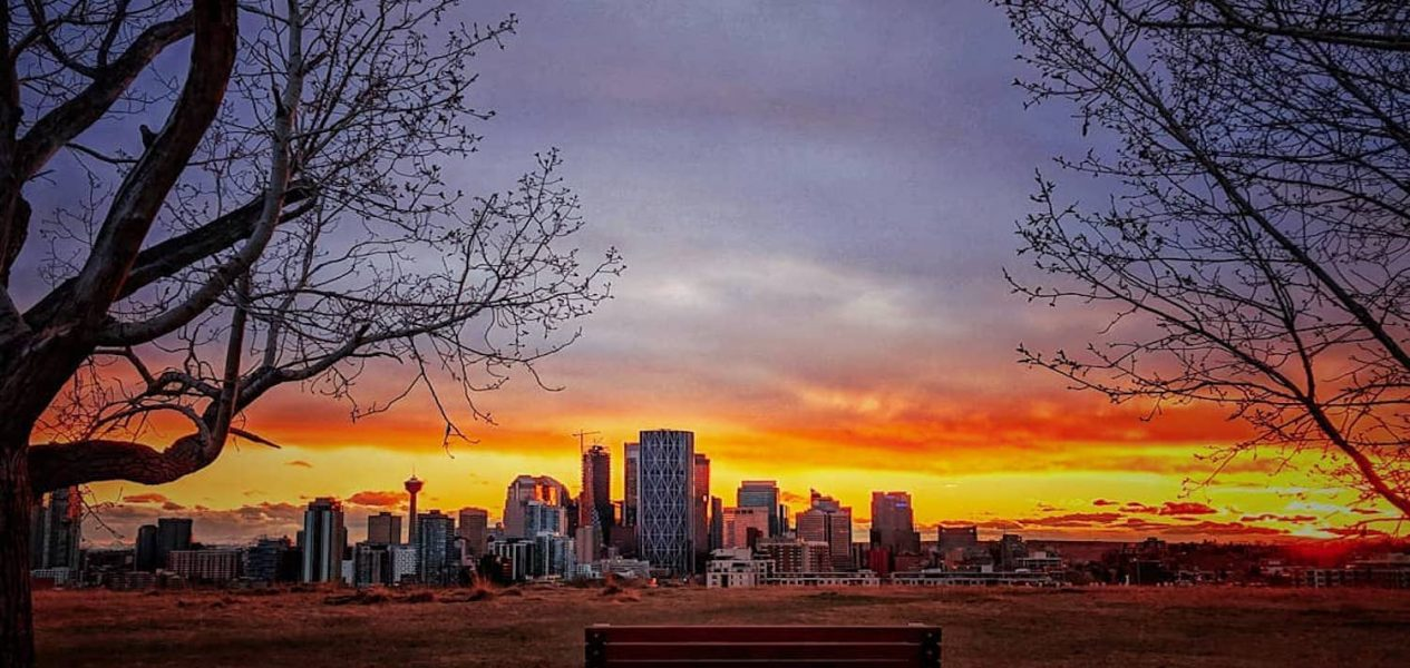 Guide: 5 of the most breathtaking spots to watch a sunset in Calgary