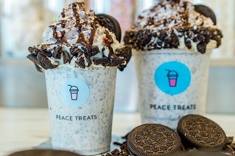 peace treats milkshakes