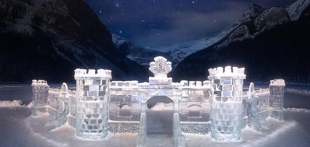 Ice festival magic