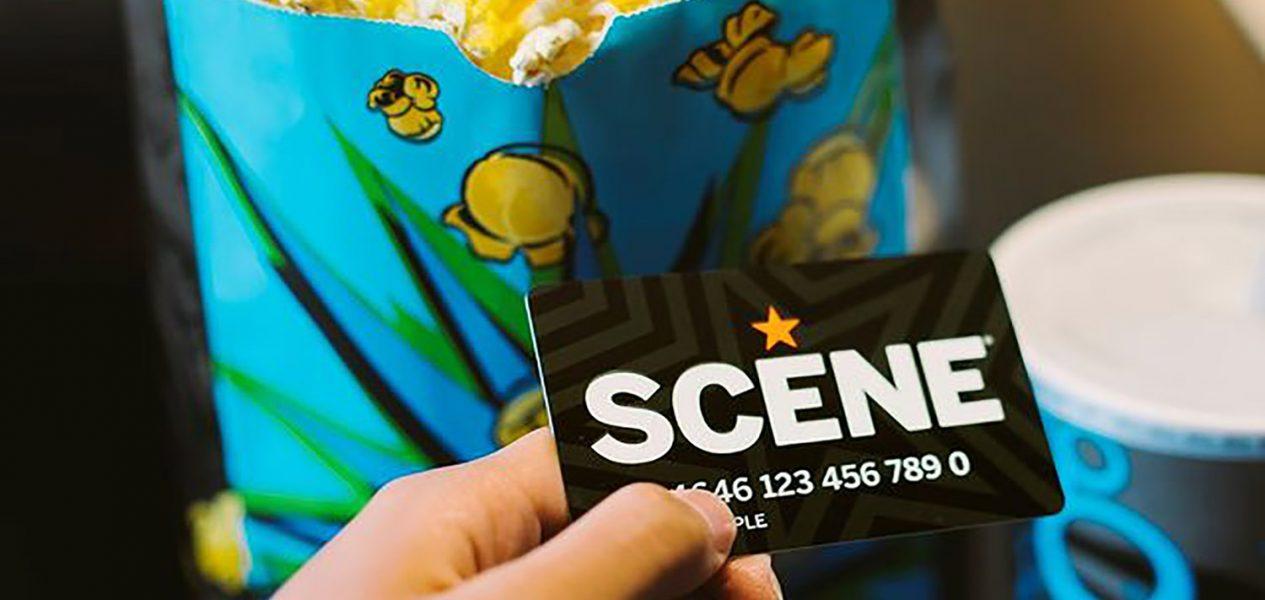 scene gift card redeem