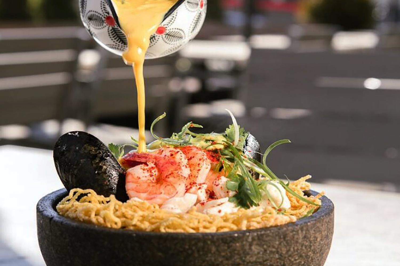 anju seafood curry ramen nest