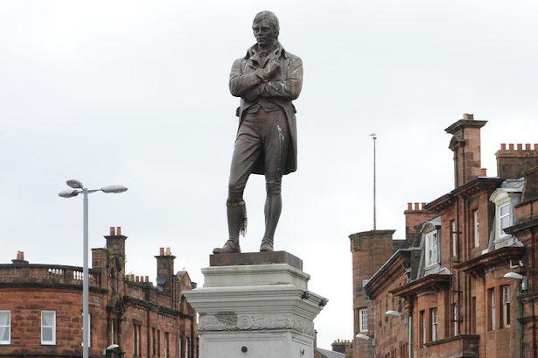 robert burns statue vancouver