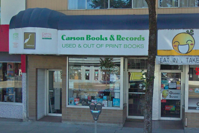 carson books