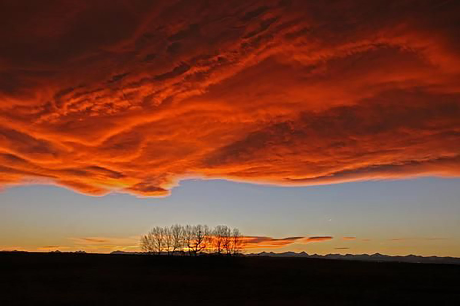 canadian winter facts chinook arch alberta