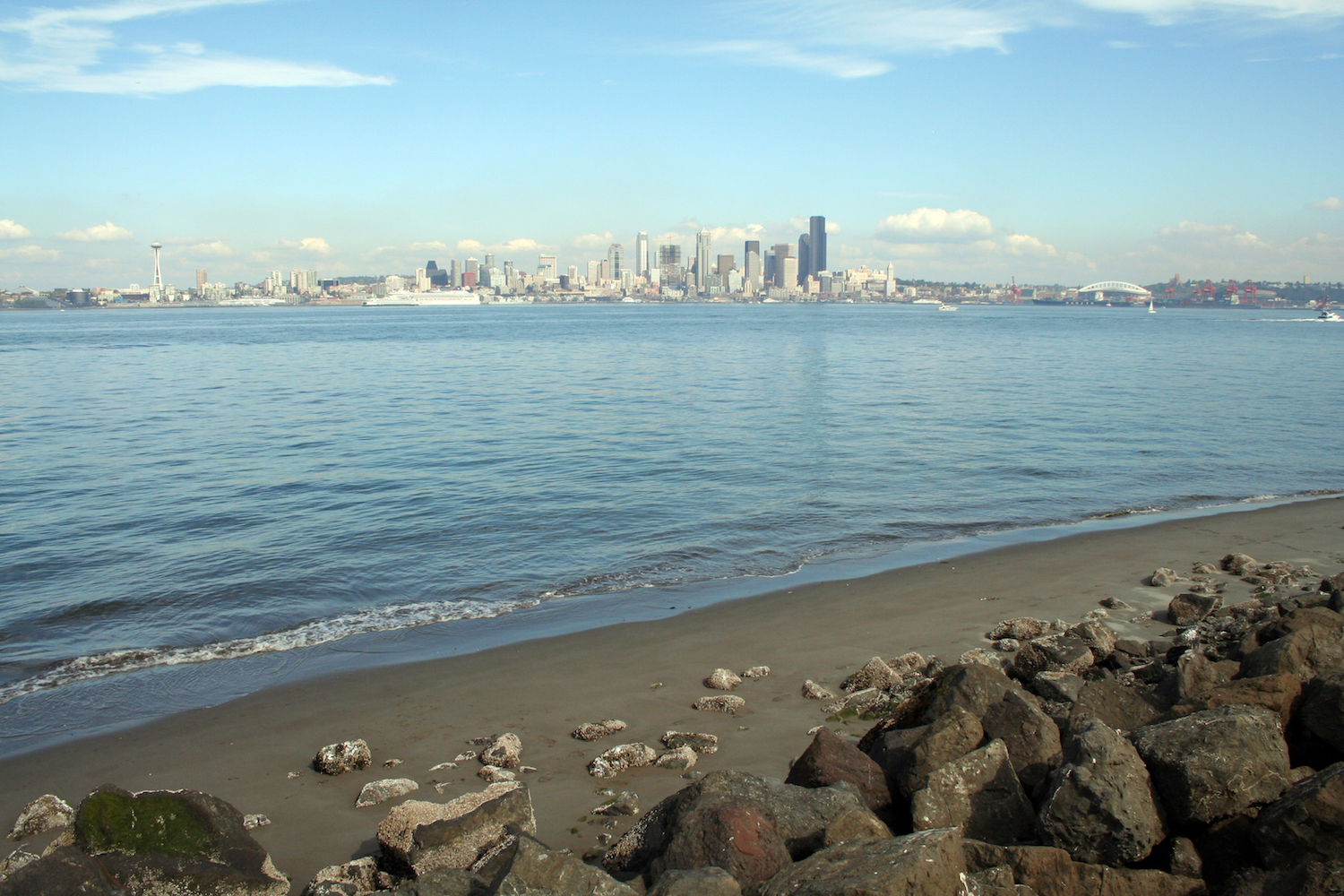 best beaches seattle