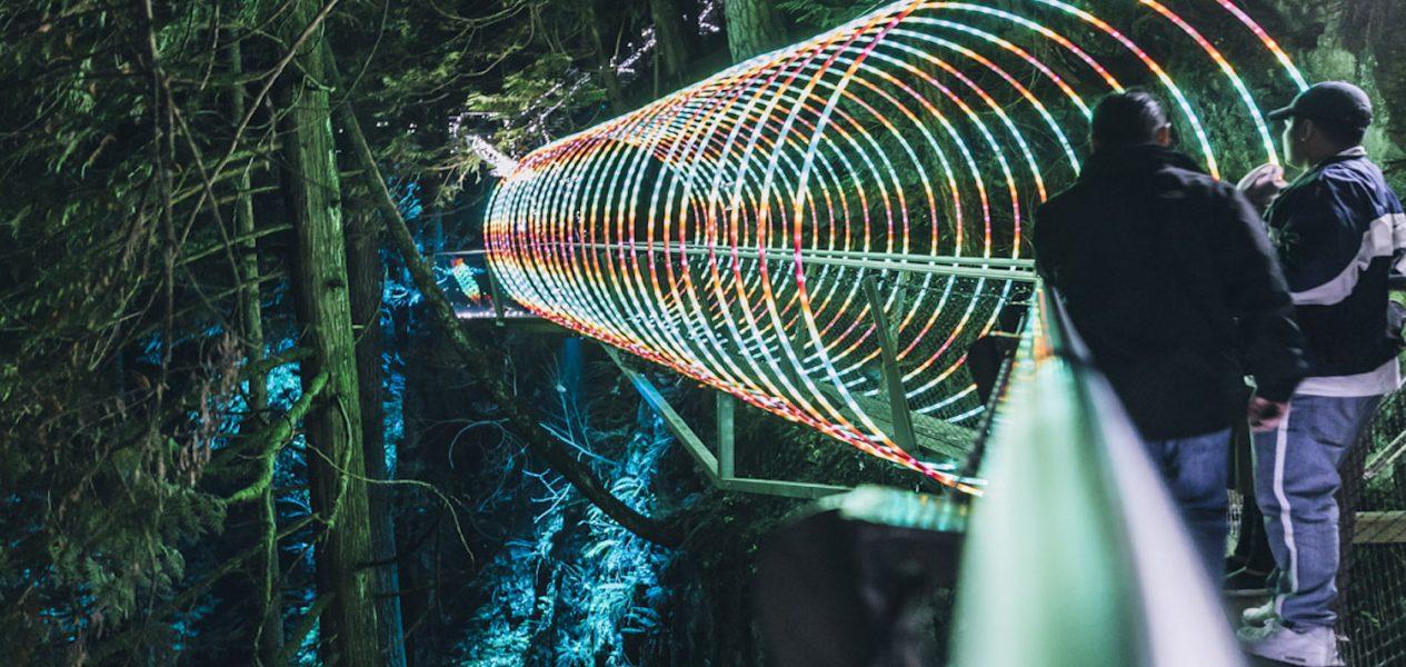 light displays vancouver canyon lights