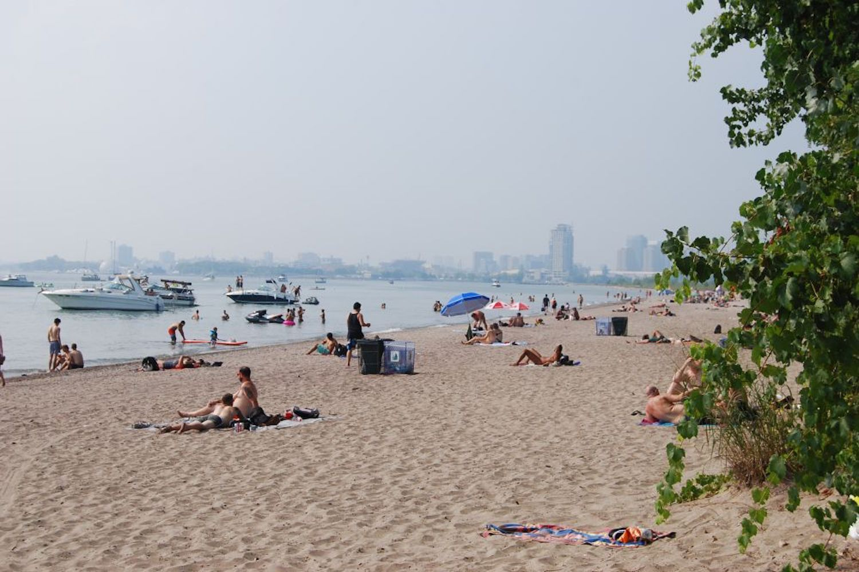 hanlan's beach toronto