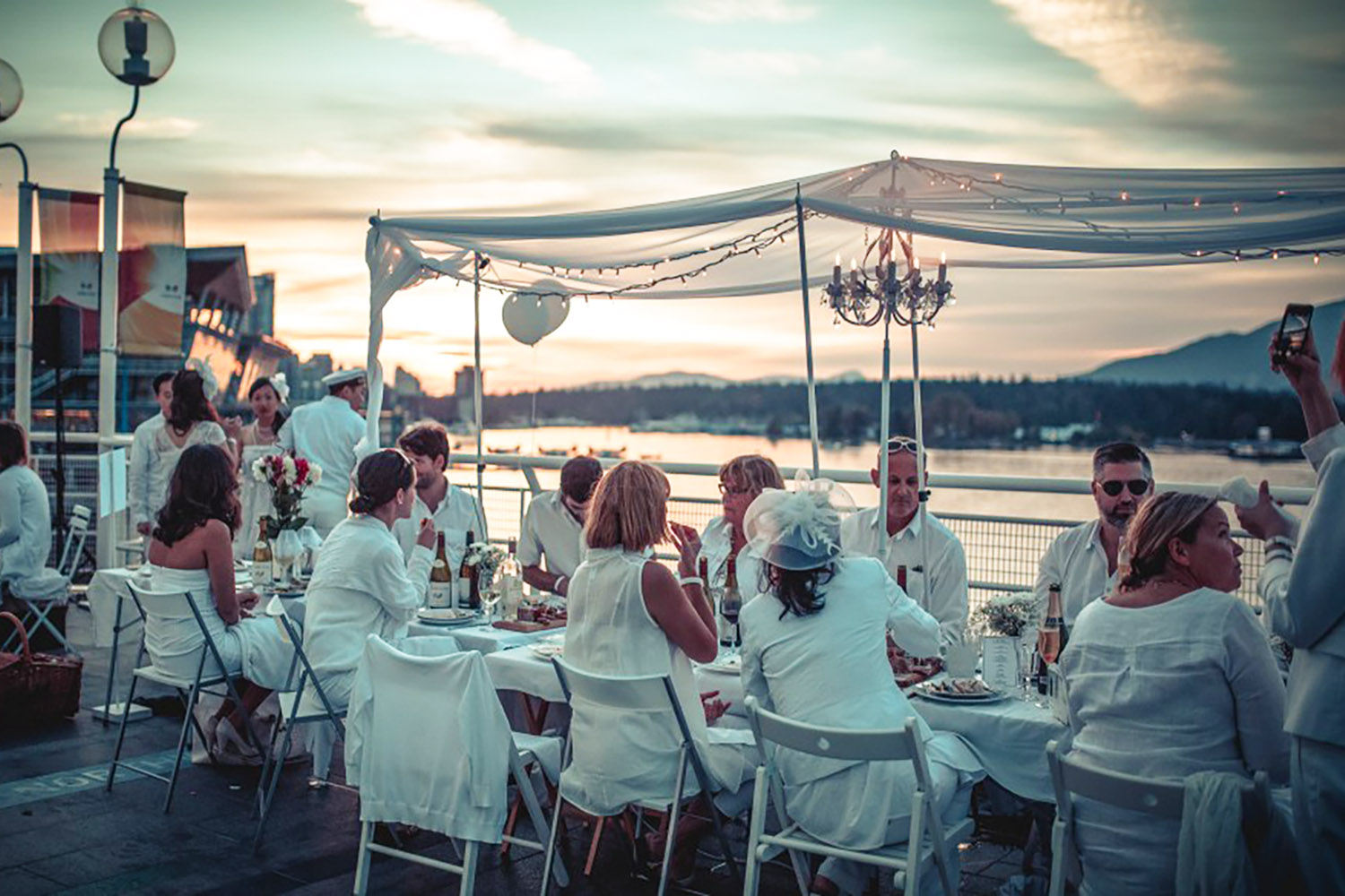 Diner en Blanc returns to Vancouver this summer