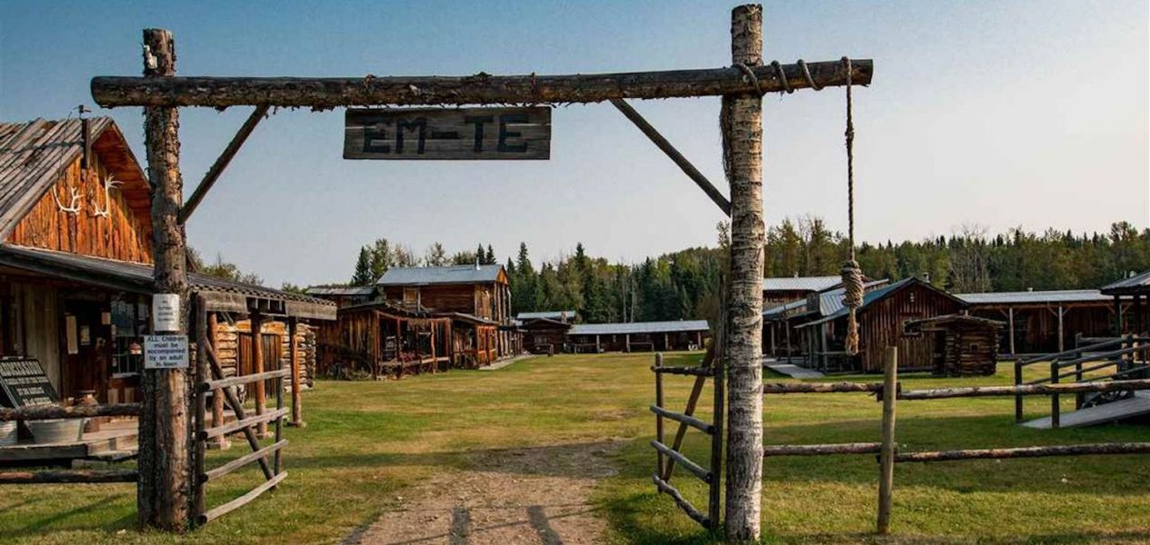 Western town for sale