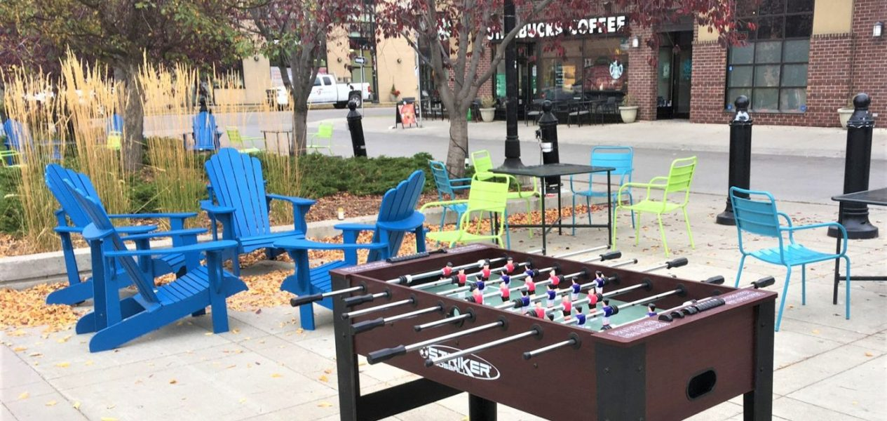Someone anonymously replaced the stolen foosball table in Bridgeland
