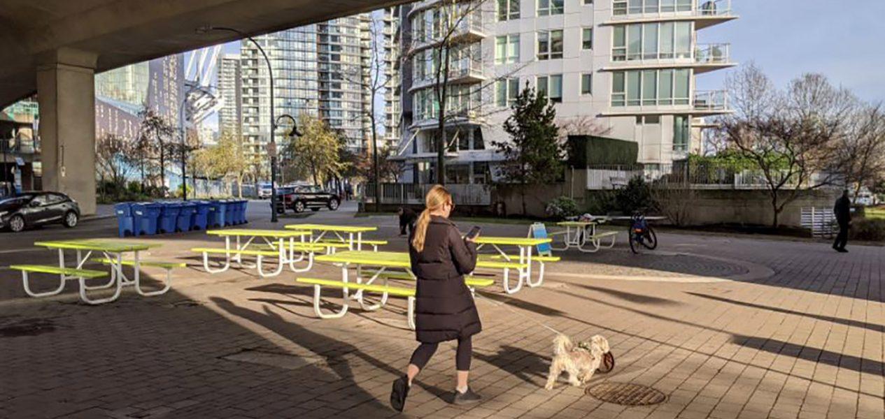 city of vancouver plazas