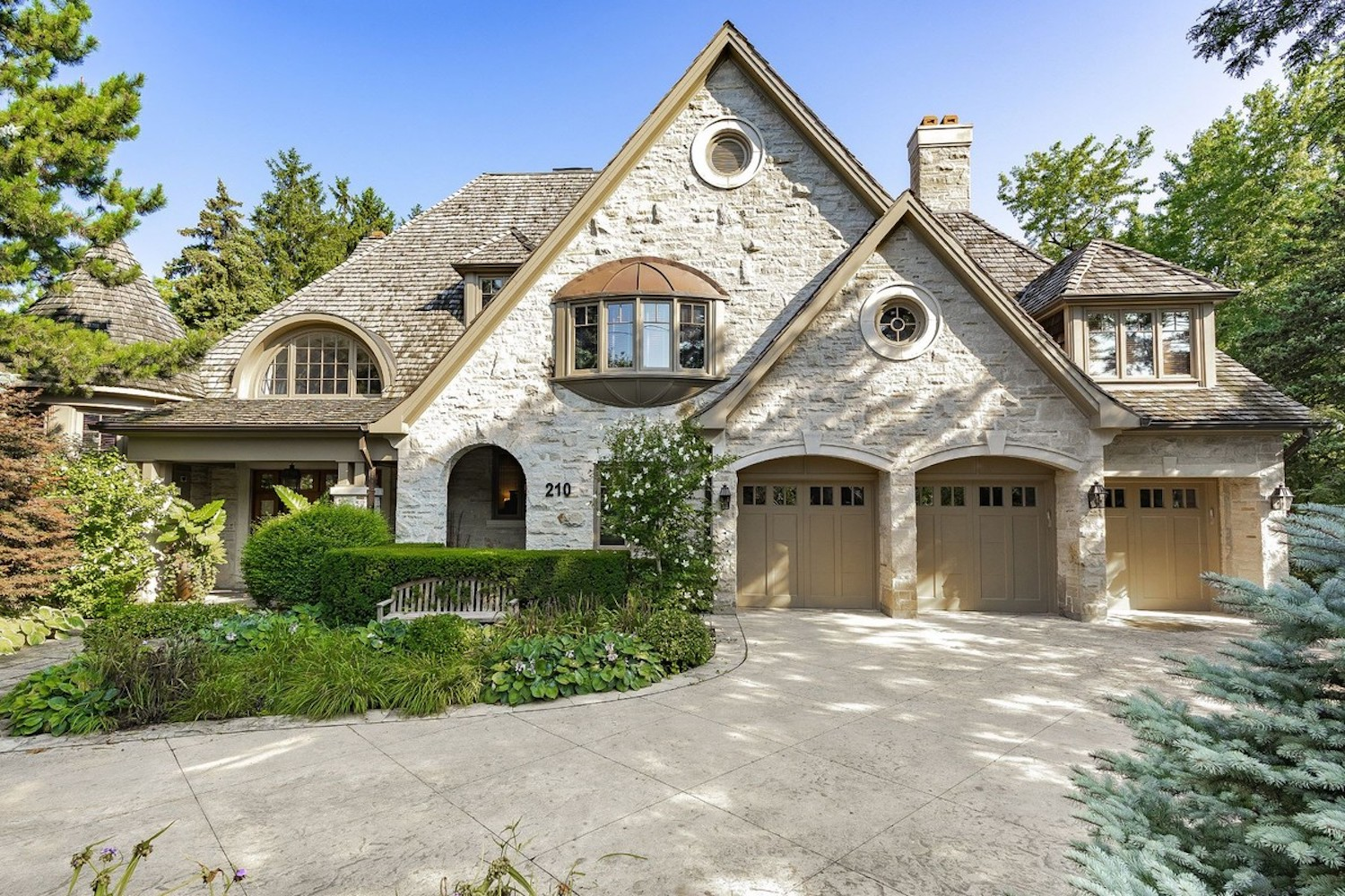 magnificent stone residence