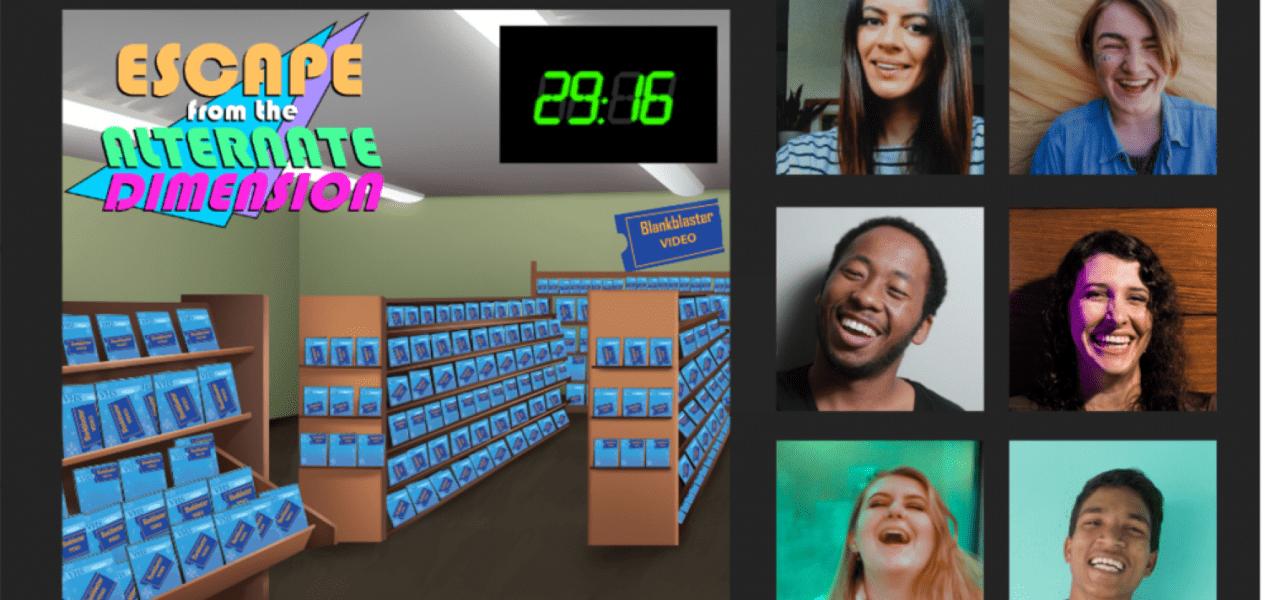 90s escape room