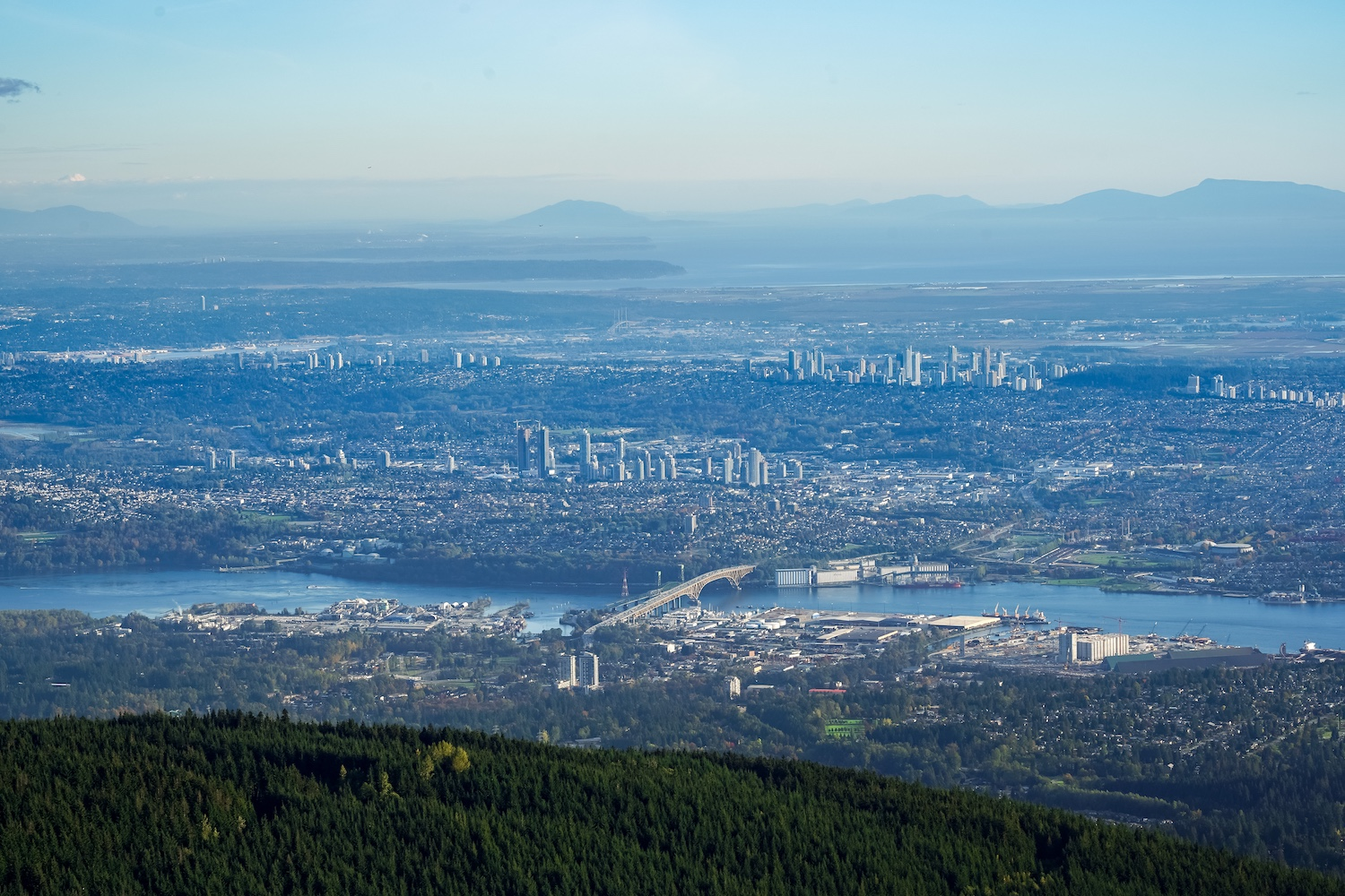 grouse mountain viewpoints in vancouver