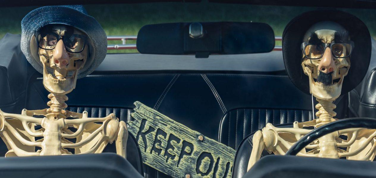 haunted drive-thru