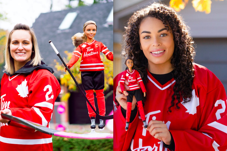 Tim Hortons hockey barbie