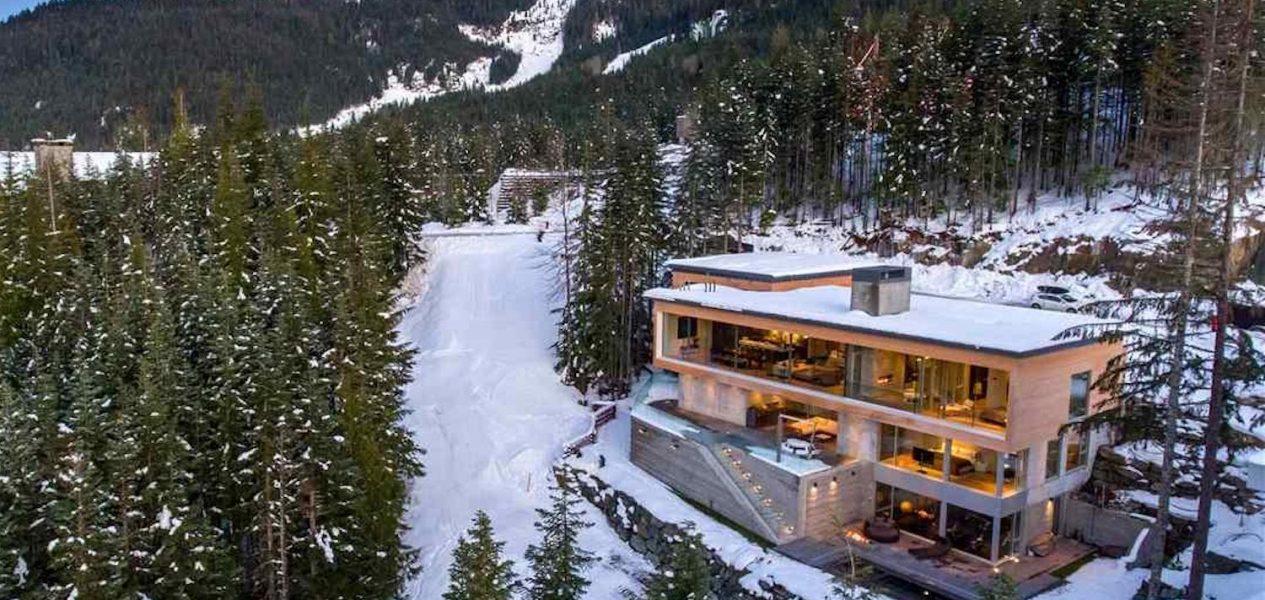whistler ski chalet