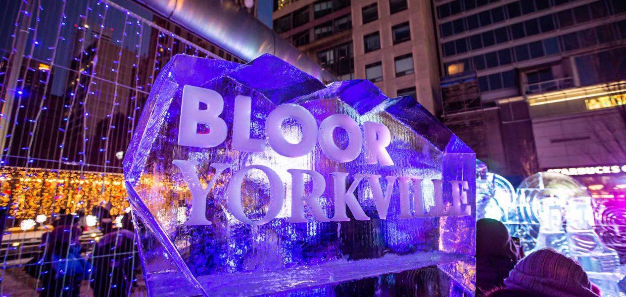 bloor-yorkville ice fest