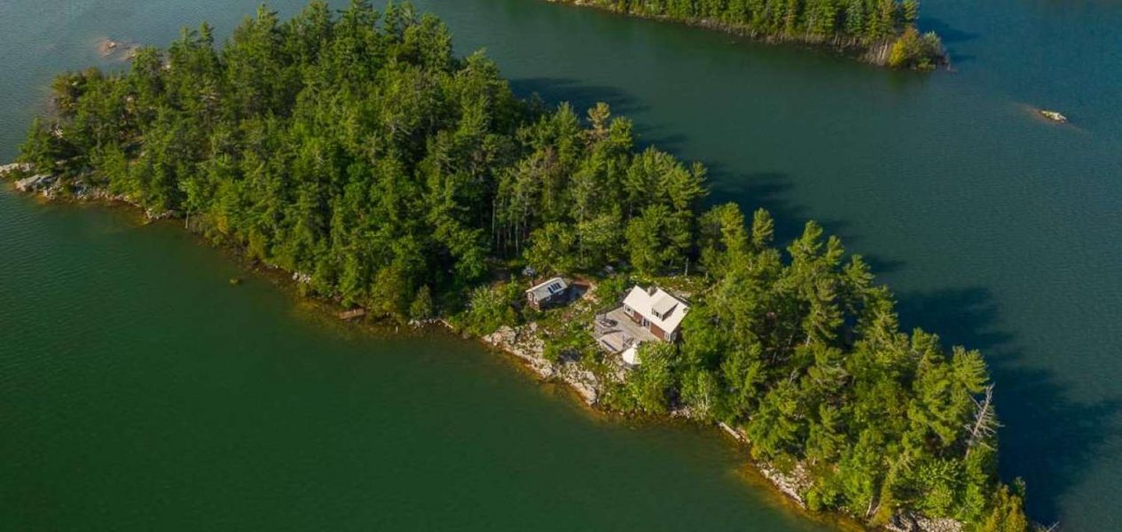 canadian private island