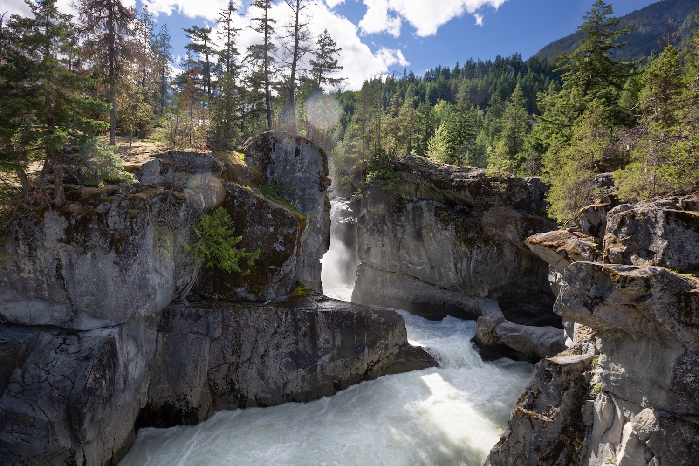nairn falls waterfalls bc