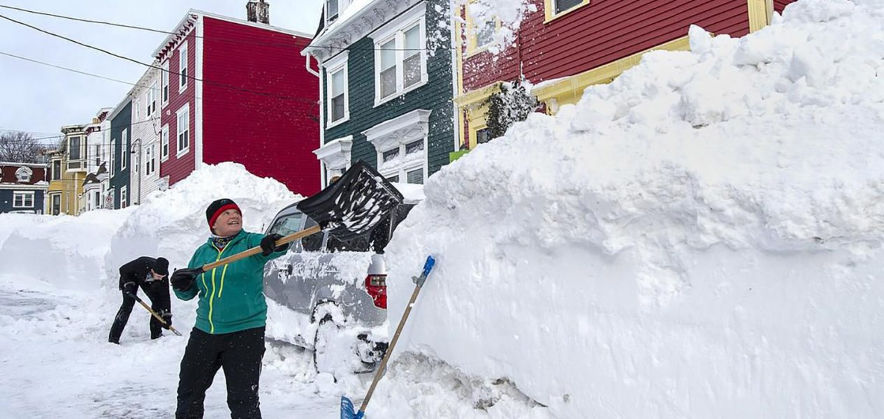 these insane videos of the newfoundland snow storm