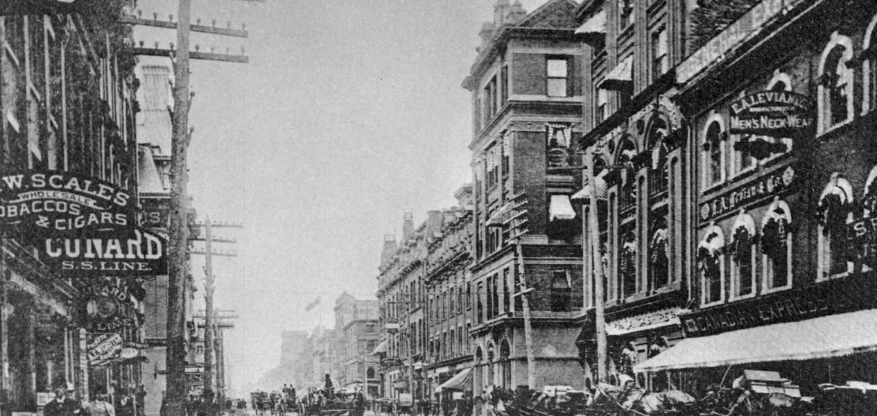 toronto 100 years ago archives