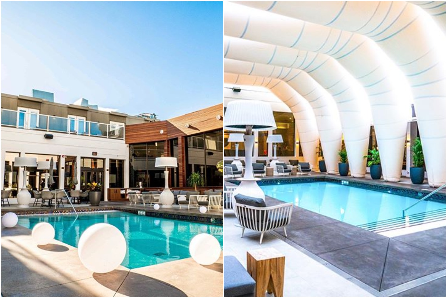 Hotel Arts to winterize pool with inflatable 'toque' and reopen this October calgary