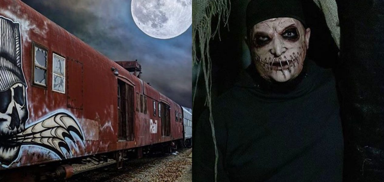 Aspen Crossing's Train of Terror is back this month & haunting as ever