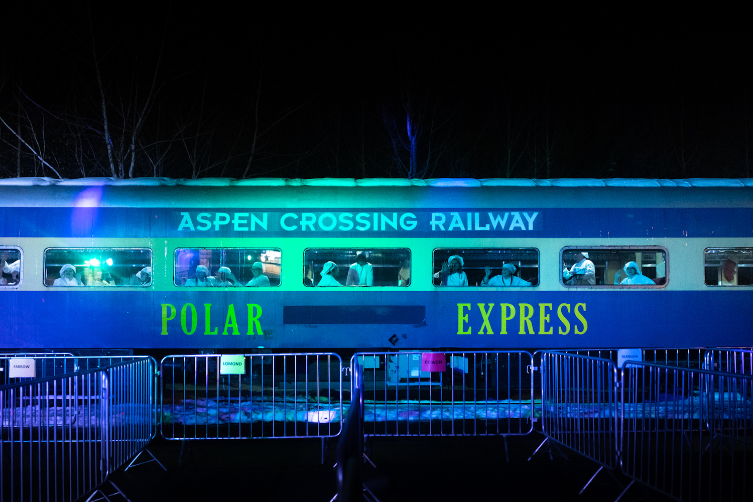 calgary aspen crossing polar express