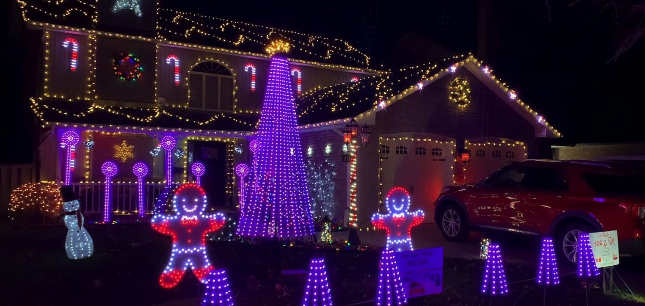 Rusty Griswold's Christmas Light Display