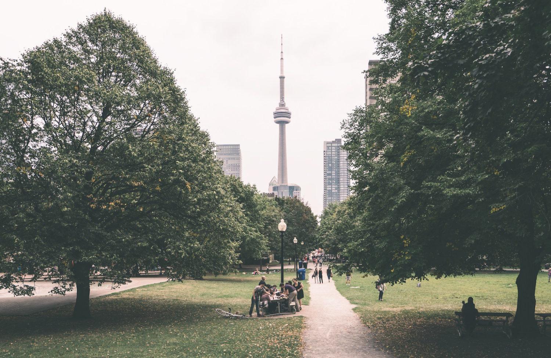 walkable Canadian cities