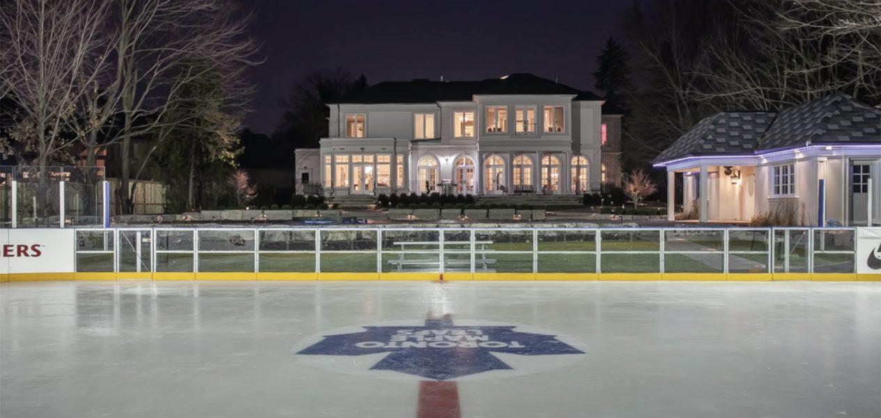 toronto backyard rink