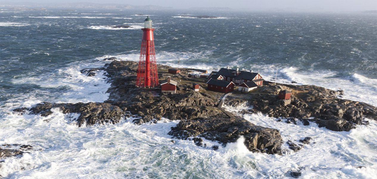 isolated lighthouse