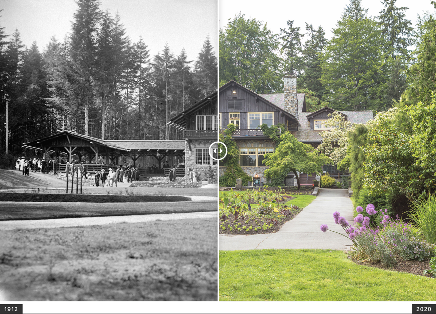 vancouver now and then