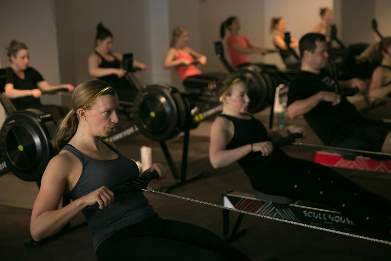 rowing workout class toronto