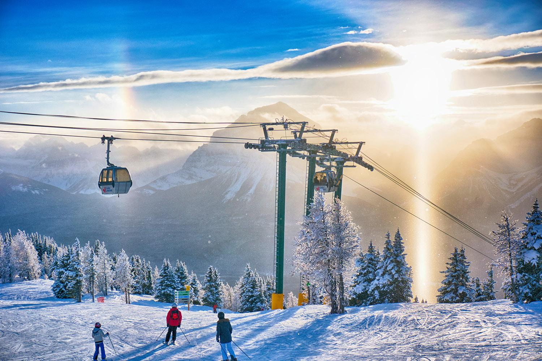 ski banff contiki