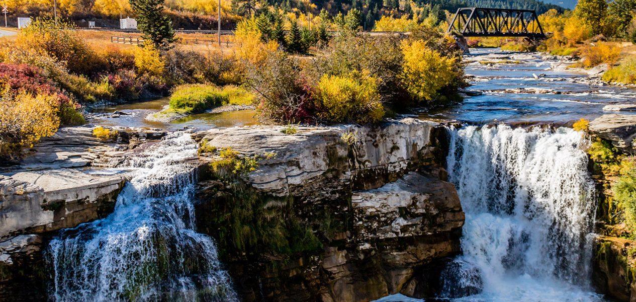 lundbreck falls alberta