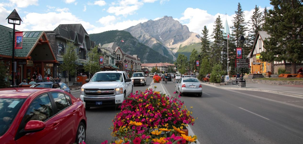 Visitors will soon have to pay to park downtown in the town of Banff