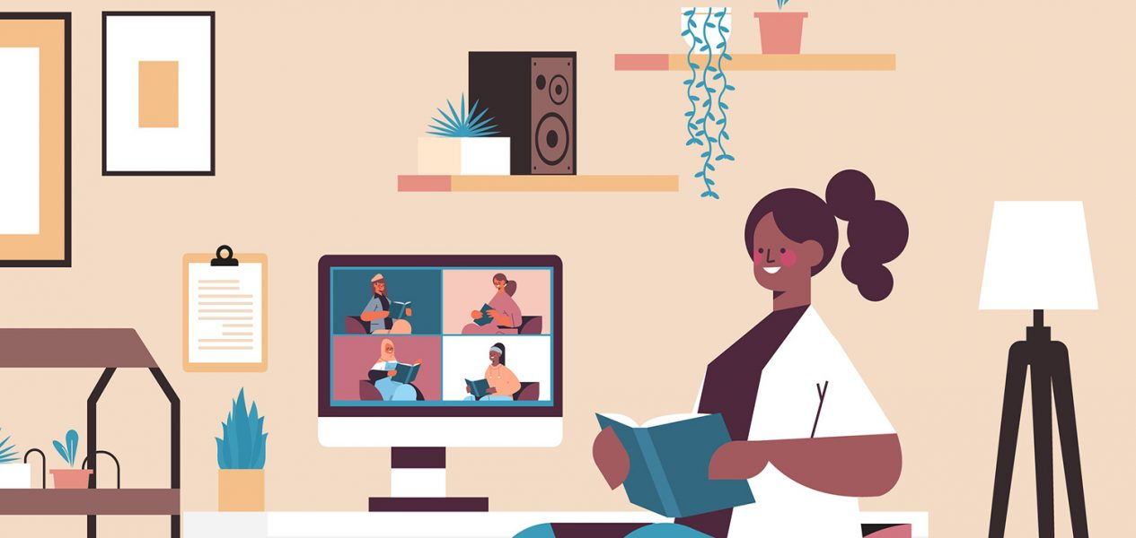 Here are 5 virtual book clubs you can join from home