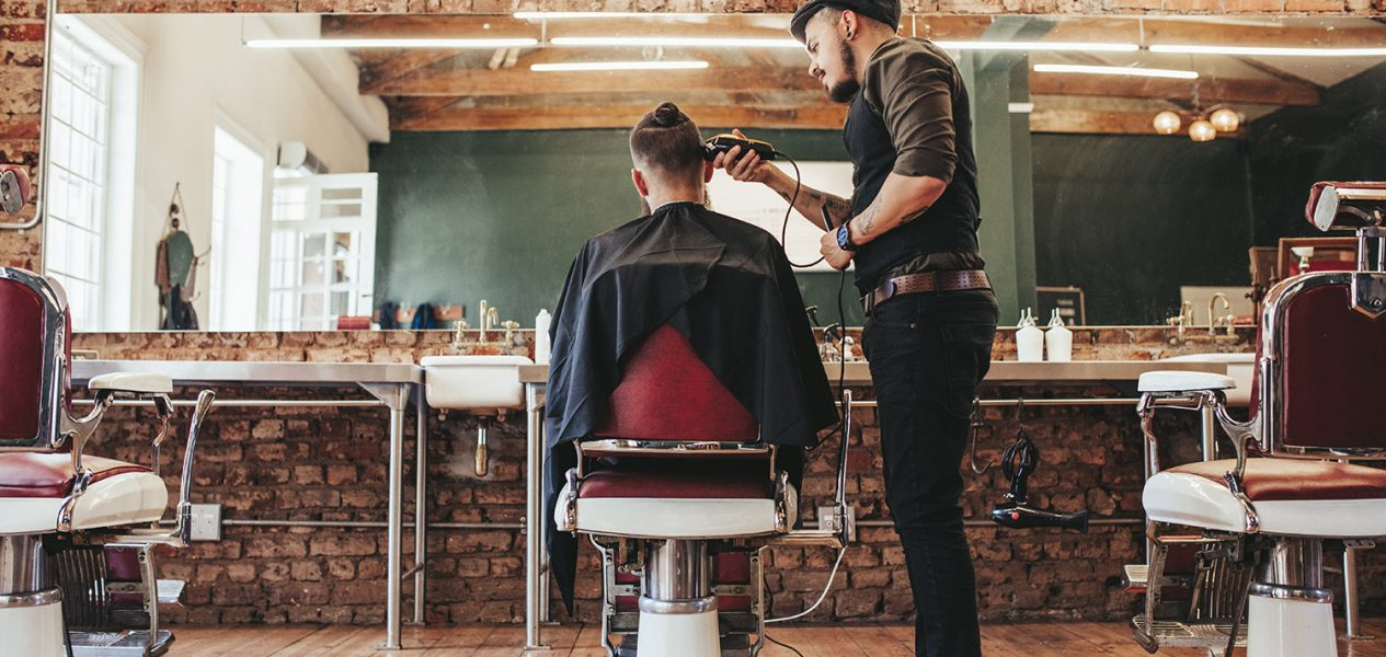 An Ontario barbershop has reopened during the lockdown using a loophole