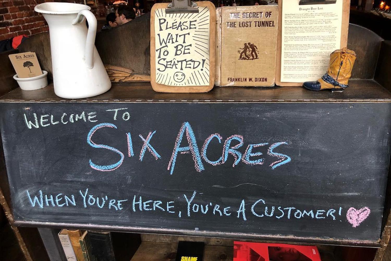 six acres
